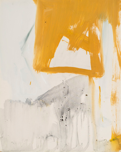 , 'Ochre and Grey Composition,' 1955, Allan Stone Projects