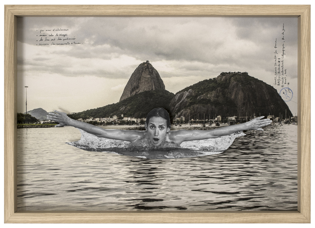 , 'GIANTS, Léonie PERIAULT from France, Botafogo, Recherche #1 © Comité international Olympique, Rio de Janeiro, Brazil, 2017,' 2017, Lazinc