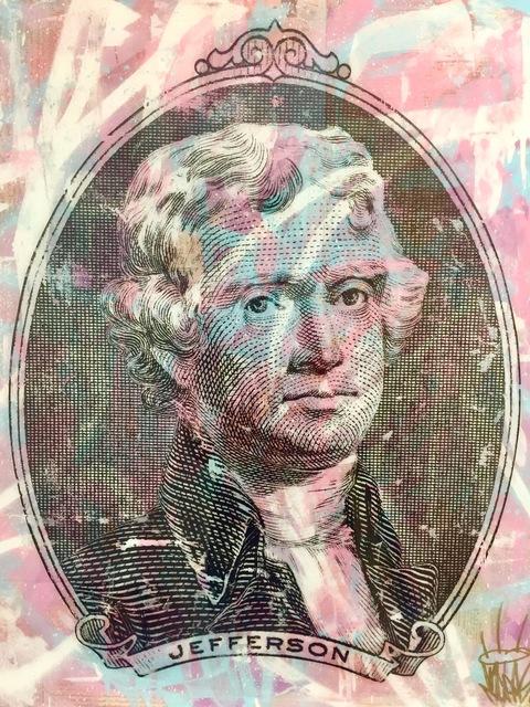 , 'Thomas Jefferson,' 2018, World Trade Gallery