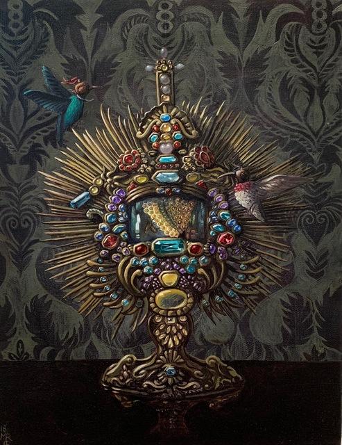 , 'RELIQUARY OF THE BEES,' 2018, La Luz de Jesus Gallery