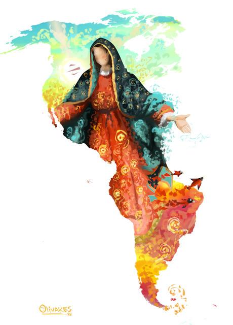 , 'Guadalupe Virgen,' 2017, DATG Concept