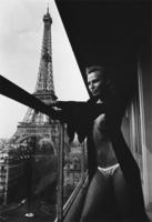 Helmut Newton, Model and Meccano Set, Paris