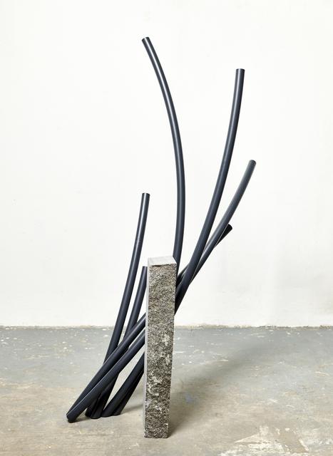 , 'Cut Off 1 (black),' 2017, Tyburn Gallery