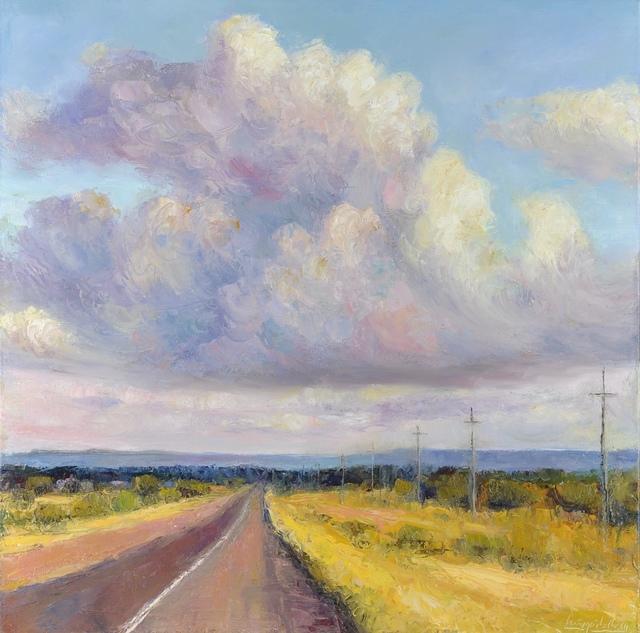 , 'Open Road II,' 2018, Mark White Fine Art