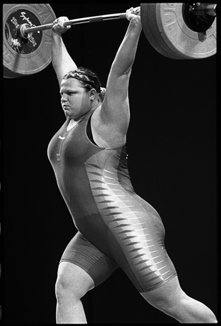 , 'Women's Weightlifting. Sydney, Australia.,' 2000, Anastasia Photo