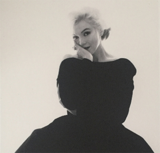 Bert Stern, 'Marilyn Rare Black Dress Large', 2012, Kunzt Gallery