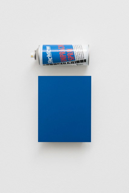 , 'CHRYSLER AB5 (ELECTRIC BLUE),' 2016, von Bartha