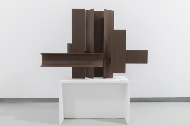 , 'structure développement V - hommage à Homère,' 1961-1964, Galerie Denise René
