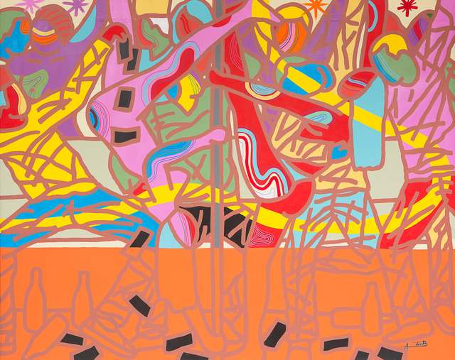 , 'Kwasa Kwasa Girls,' 2017, Jack Bell Gallery