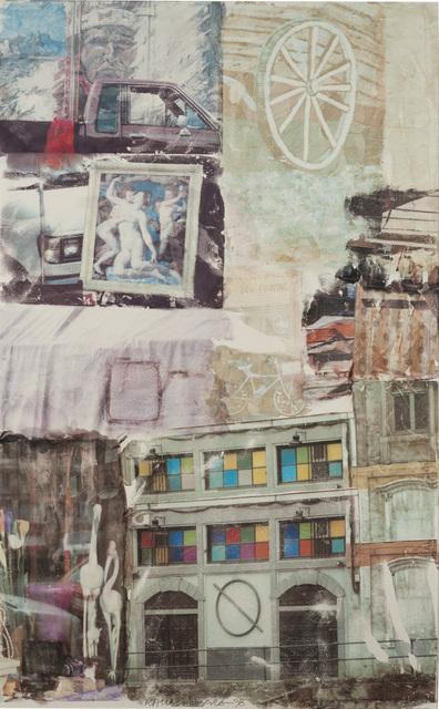 Robert Rauschenberg, 'Love Hotel [Anagrams (A Pun)]', 1998, Mixed Media, Vegetable dye transfer on Polylaminate, Pérez Art Museum Miami (PAMM)