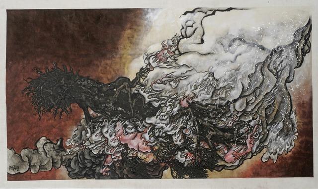 , 'St-Arbre-Feu Blanc,' 2010, Jeanne Bucher Jaeger