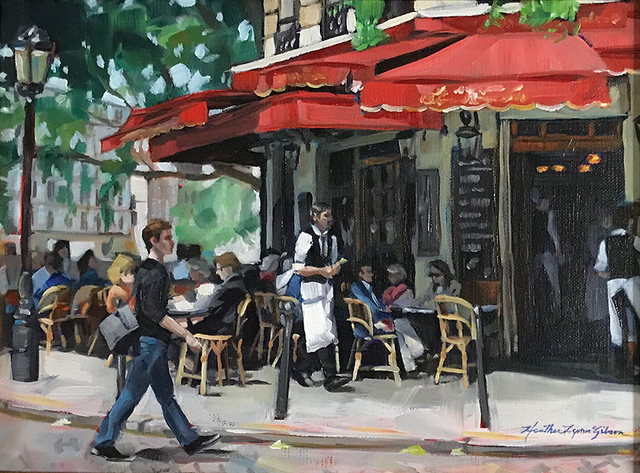 , 'Busy Waiter,' , Peninsula Gallery