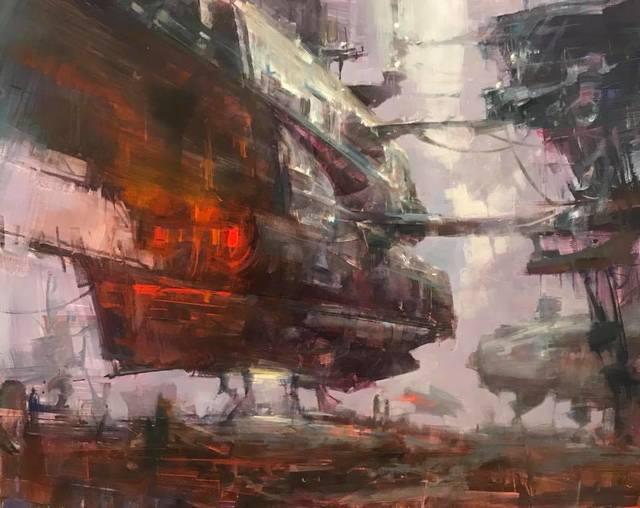 Bryan Mark Taylor, 'Landing', 2018, IX Gallery
