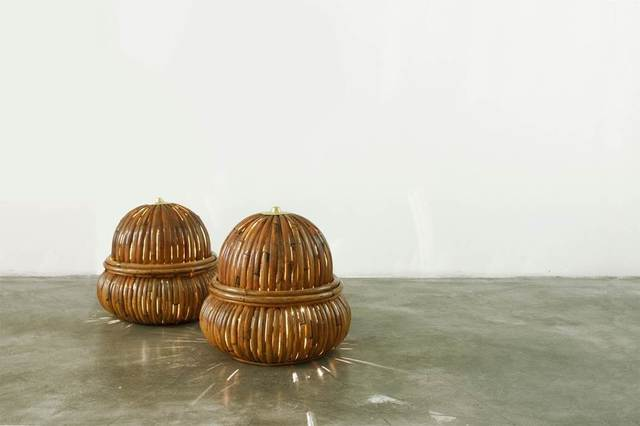 , 'Table Lamps 'Bamboo' (Pair),' 1973, David Gill Gallery