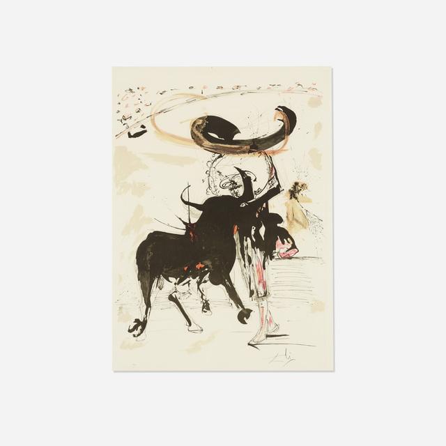 Salvador Dalí, 'Bullfight No. 2', 1966, Print, Lithograph, Rago/Wright