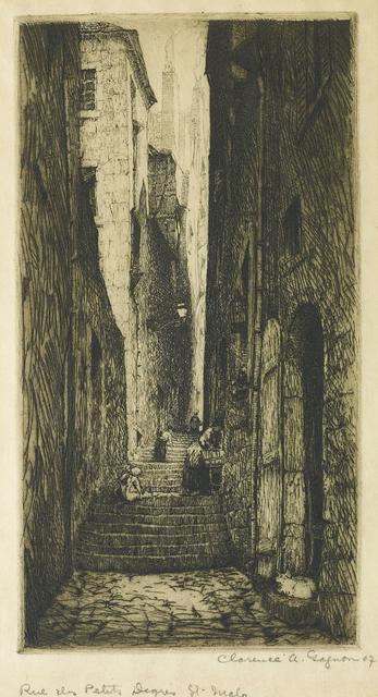, 'Rue Des Petits Degres Saint-Malo,' 1906, Oeno Gallery