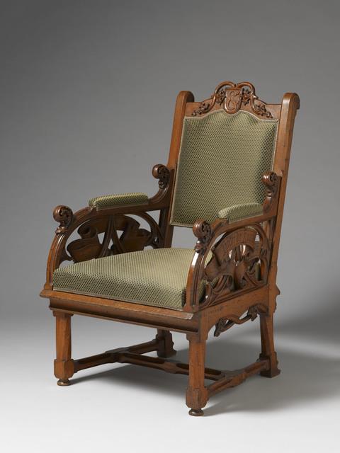 , 'Armchair,' German circa 1866, H. Blairman & Sons Ltd