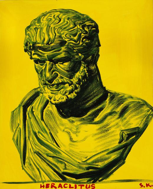 , 'Heraclitus,' 2016, Cob