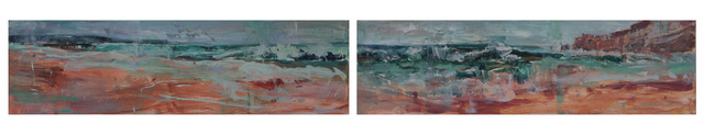 Connie Connally, 'A Distant Wave I and II', 2018, George Billis Gallery