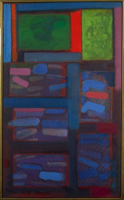 , 'Night Window II,' 1964, Berry Campbell Gallery