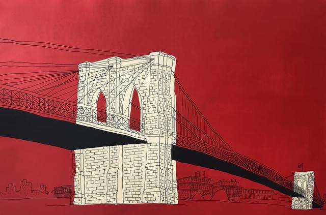 , 'Brooklyn Bridge-Horizontal ,' 2018, Wallspace