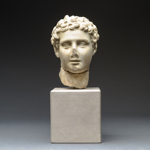 , 'Hellenistic Marble Head of Alexander the Great,' 300 BCE-100 BCE, Barakat Gallery