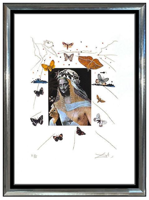 Original artwork  surrealist framed colour photograph