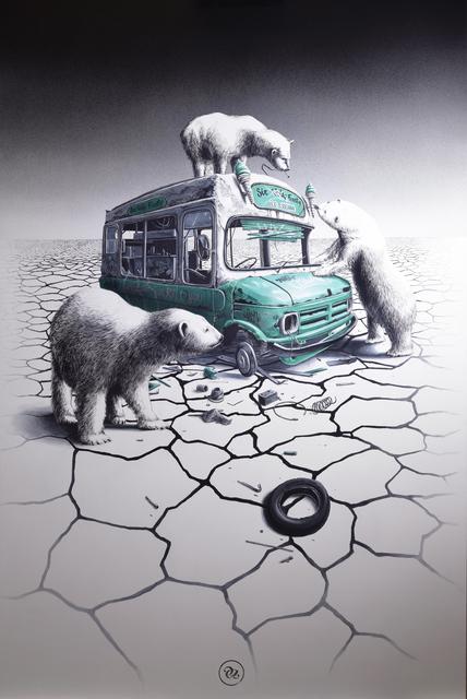 , 'ICE CREAM,' 2017, Avenue des Arts