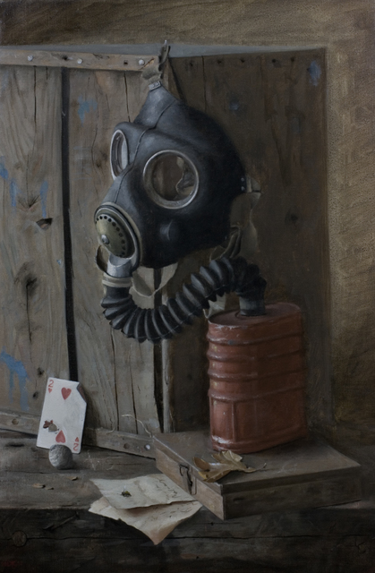 , 'Still Life with Gas Mask,' 2013, Gallery 1261