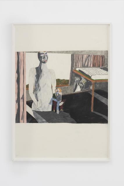 Marie Jacotey, 'Creepy statue', 2015, Hannah Barry Gallery