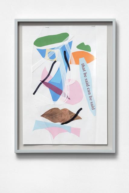 , 'Dicta (group 2),' 2017, Kasia Michalski Gallery