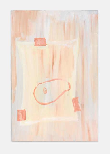 , 'Pinsel Portrait - Gusto oder zwischen roten Städten VI,' 2018, Kirchgasse