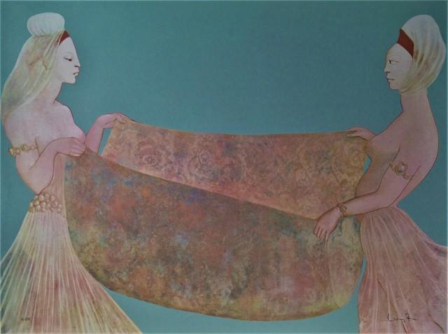 Leonor Fini, 'Amine et la Larve', 1976, Joseph Grossman Fine Art Gallery