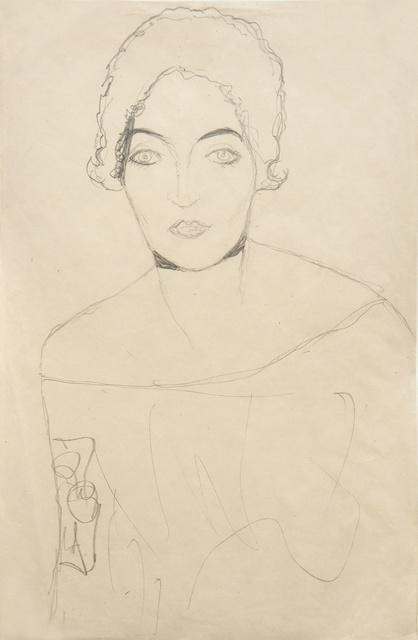 , 'Portrait of a Lady,' 1916, W & K - Wienerroither & Kohlbacher