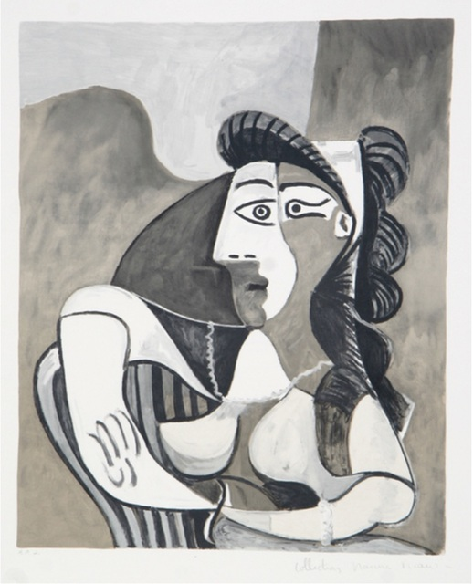 Pablo Picasso, 'Femme Accoudee au Fauteuil', 1979-1982, Sager Braudis Gallery