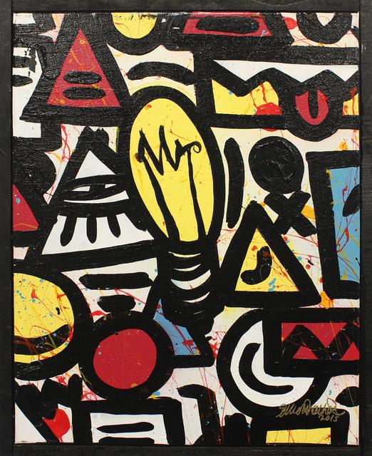 , 'Ideas D,' 2015, Art Attack SF
