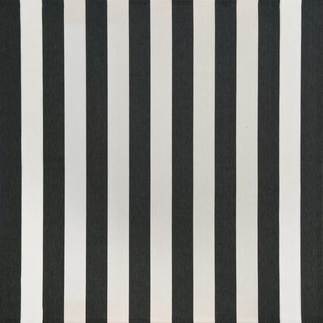Daniel buren peinture acrylique blanche sur tissu raye for Peinture acrylique