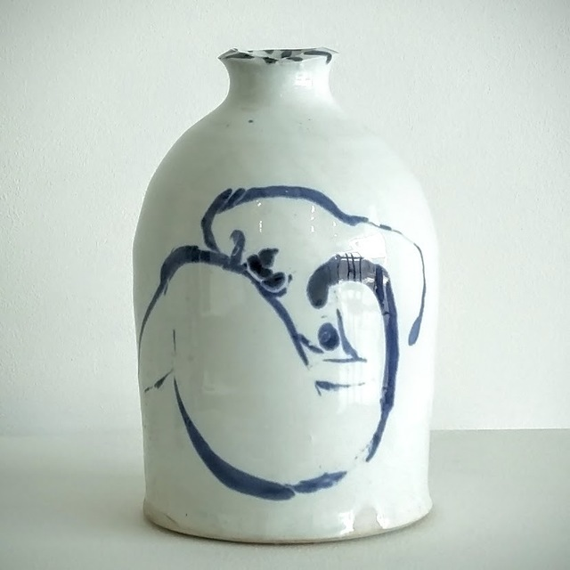 Ken Ferguson, 'Bottle form with nude 5', 2001, Haw Contemporary