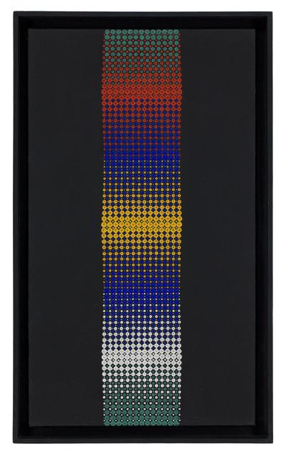Almir Mavignier, 'Convexo Vermelho Amarelo Branco', 1967, Museo de Arte Contemporáneo de Buenos Aires