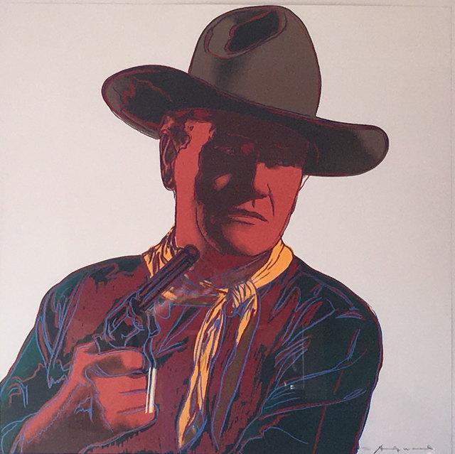 Andy Warhol, 'John Wayne (FS II.377) ', 1986, Revolver Gallery