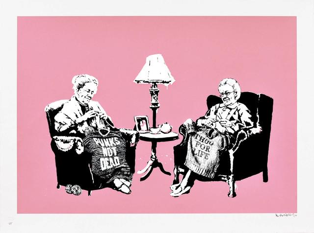 Banksy, 'Grannies - Signed', 2006, Hang-Up Gallery
