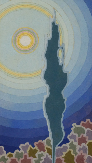 , 'Landscape: Sun and Cypress,' , Questroyal Fine Art