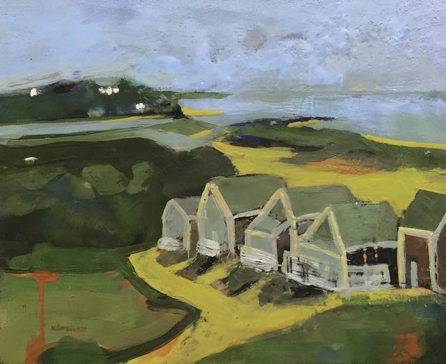 , 'Above Roseville,' , Addison Art Gallery