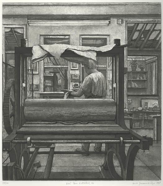 , 'Rene dans son atelier,' 1998, Childs Gallery