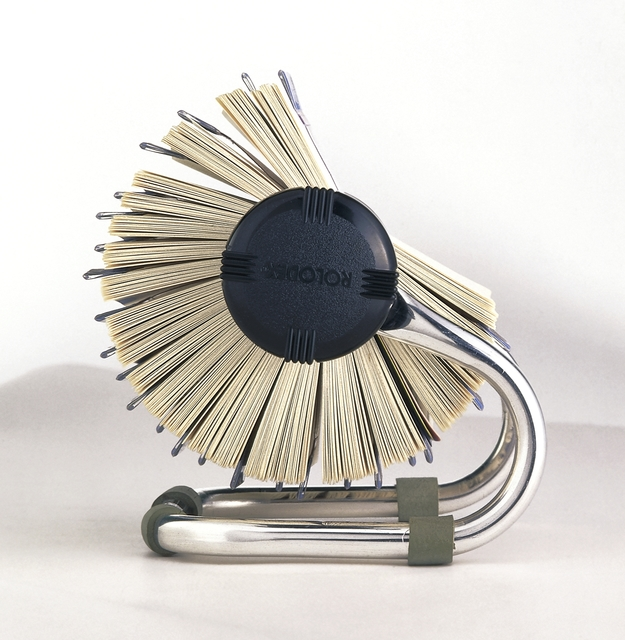 'Rolodex open rotary card file', 1950, Cooper Hewitt, Smithsonian Design Museum