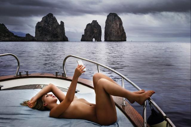 David Drebin, 'Capri Selfie', Art Angels