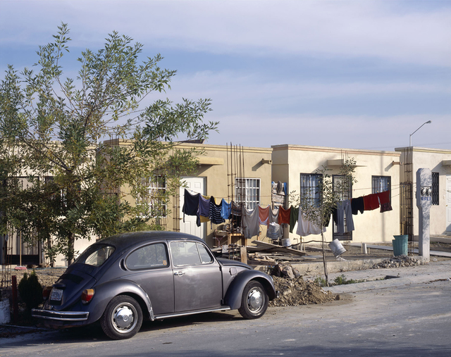 , 'VW and cloths outside a house, Juarez Suburb,' 2009, SOCO GALLERY