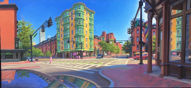Ed Stitt, 'Boston Check Cashing', 2018, Gallery NAGA