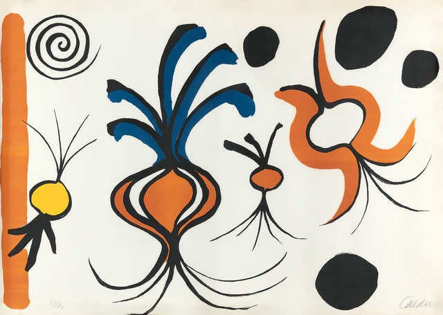 Alexander Calder, 'Les Oignons', 1965, Swann Auction Galleries