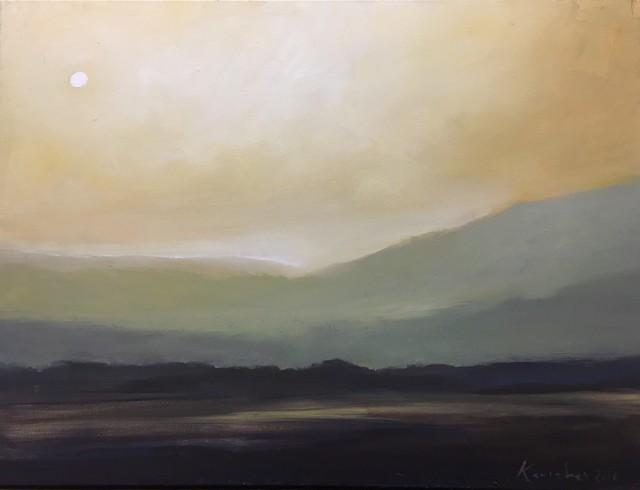 , 'Yellow Fields,' 2016, J. Pepin Art Gallery